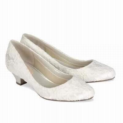classique chic achat le plus récent nouvelle version chaussures mariage pied large,chaussure mariage fleur ...